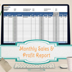 monthly-profit-template
