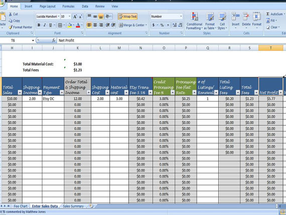 monthly profit template  monthly sales report excel
