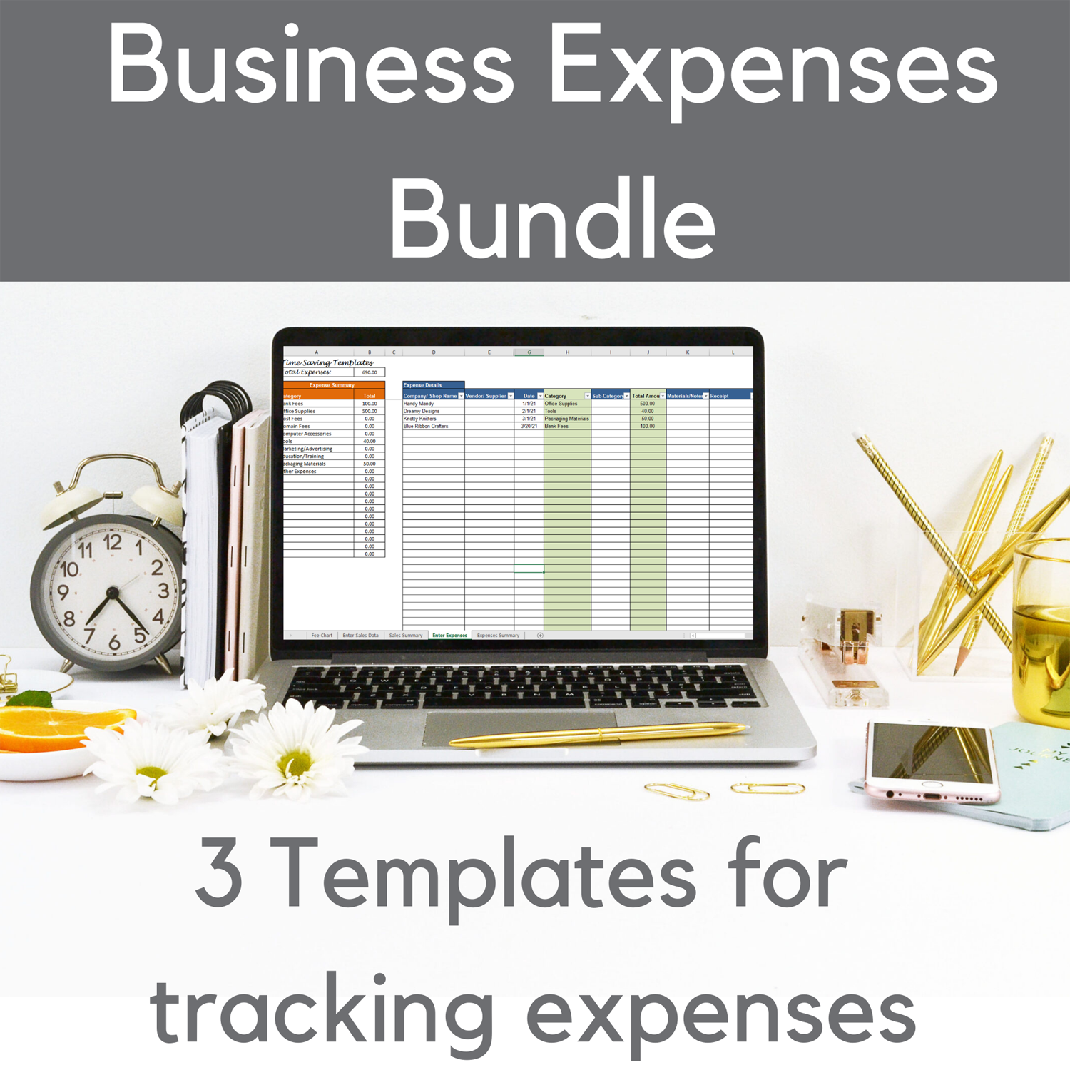 Business expenses tracking