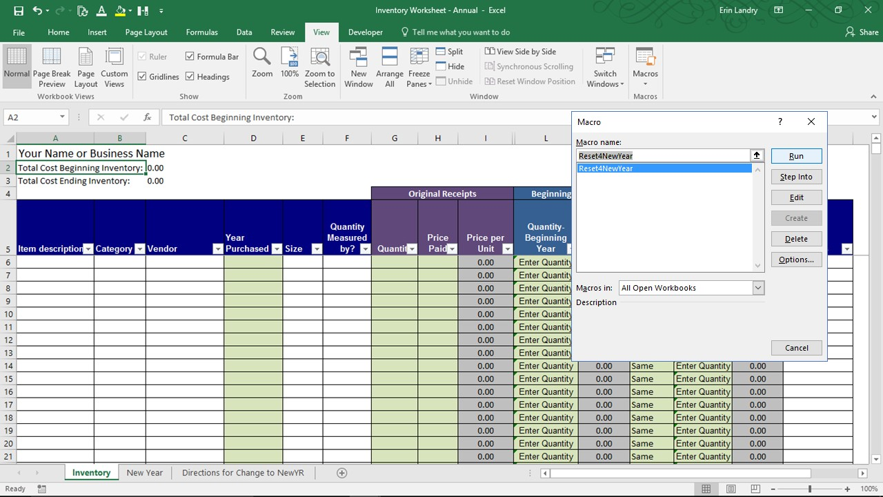 Excel Spreadsheet Templates