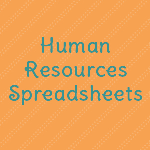 Human Resources Spreadsheets
