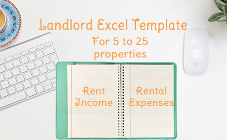 landlord rental income and expenses tracking spreadsheet 5 30