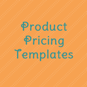 Product Pricing Templates