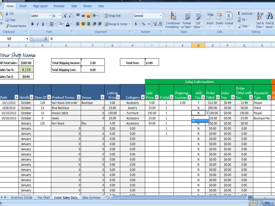 inventory and sales management  inventory tracking