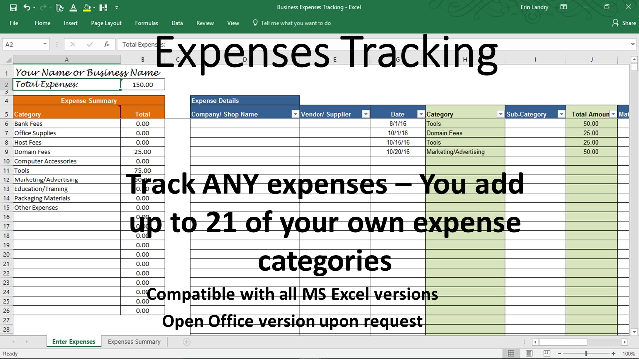 overhead expense template small business expenses tracking excel. Black Bedroom Furniture Sets. Home Design Ideas