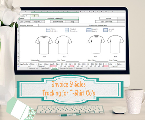 Invoice-Sales- T-shirt companies