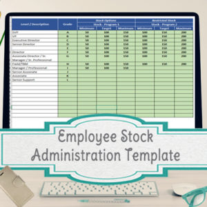 Employee stock options agreement template