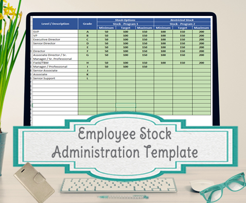 Employee Stock Option template