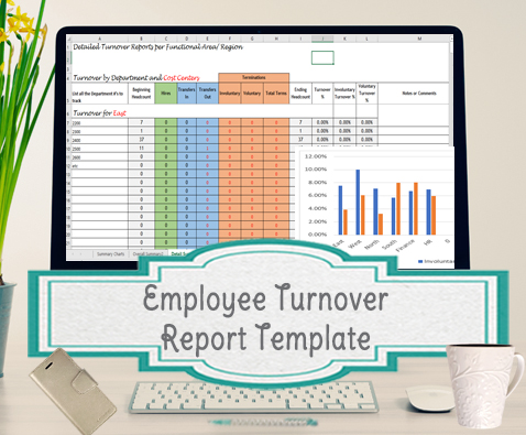 Turnover Report template