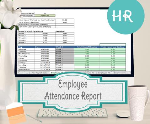 Employee attendance report