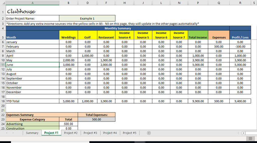 income source tracking template  excel sales tracking