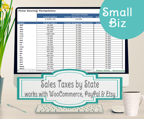 State Sales Taxes worksheet