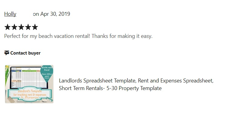 Landlord review