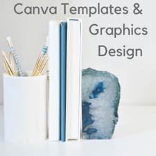 Stock Photos + Canva Templates